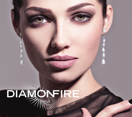 Diamonfire logo and branding