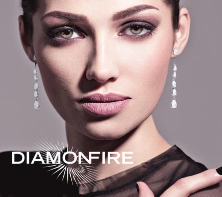 Diamonfire logo and branding