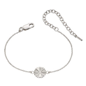 Diamond Cut Bevelled Bracelet