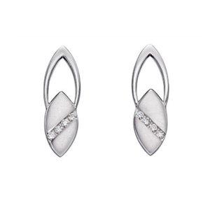 Open Navette Earrings