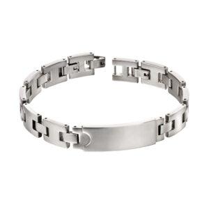 Steel Section ID Bracelet