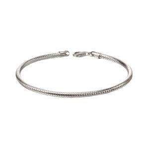 Round Snake Chain Bracelet