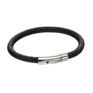 Blur Leather Textured Bracelet
