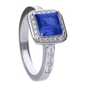 Sapphire Art Deco Vintage Ring